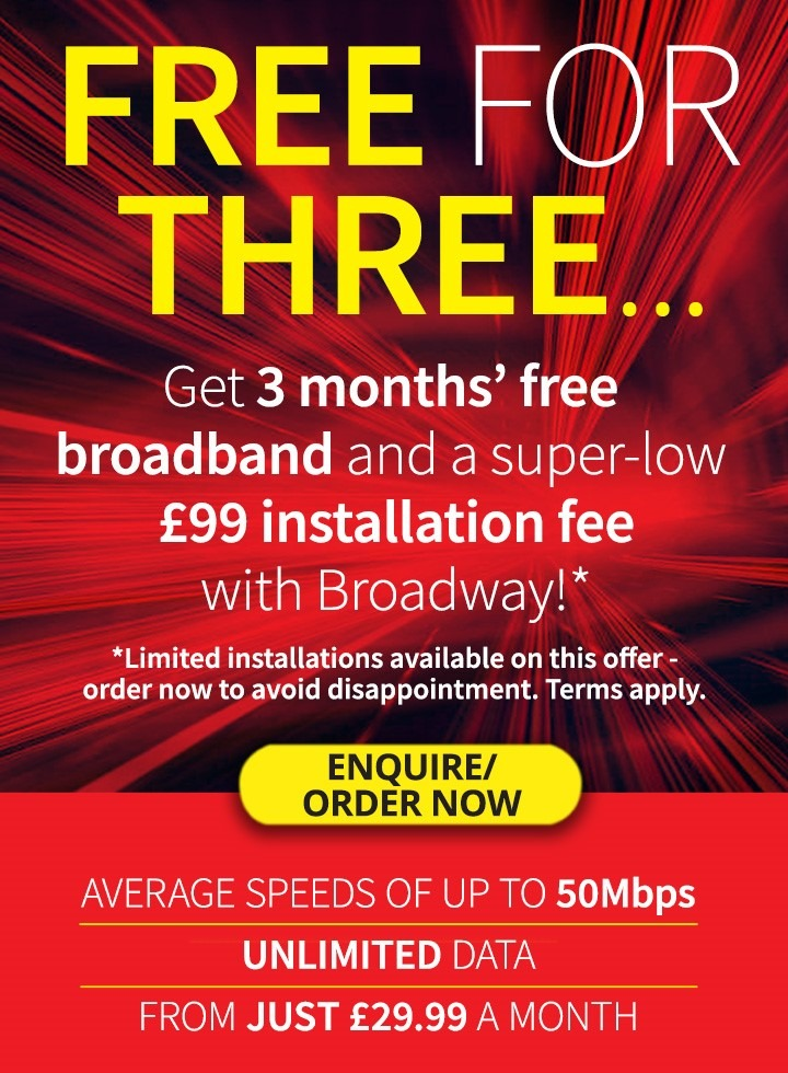 Free for Three (mobile) red