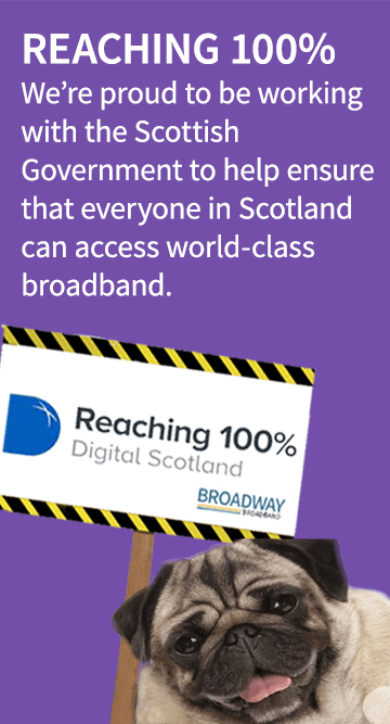 100% broadband coverage (mobile)