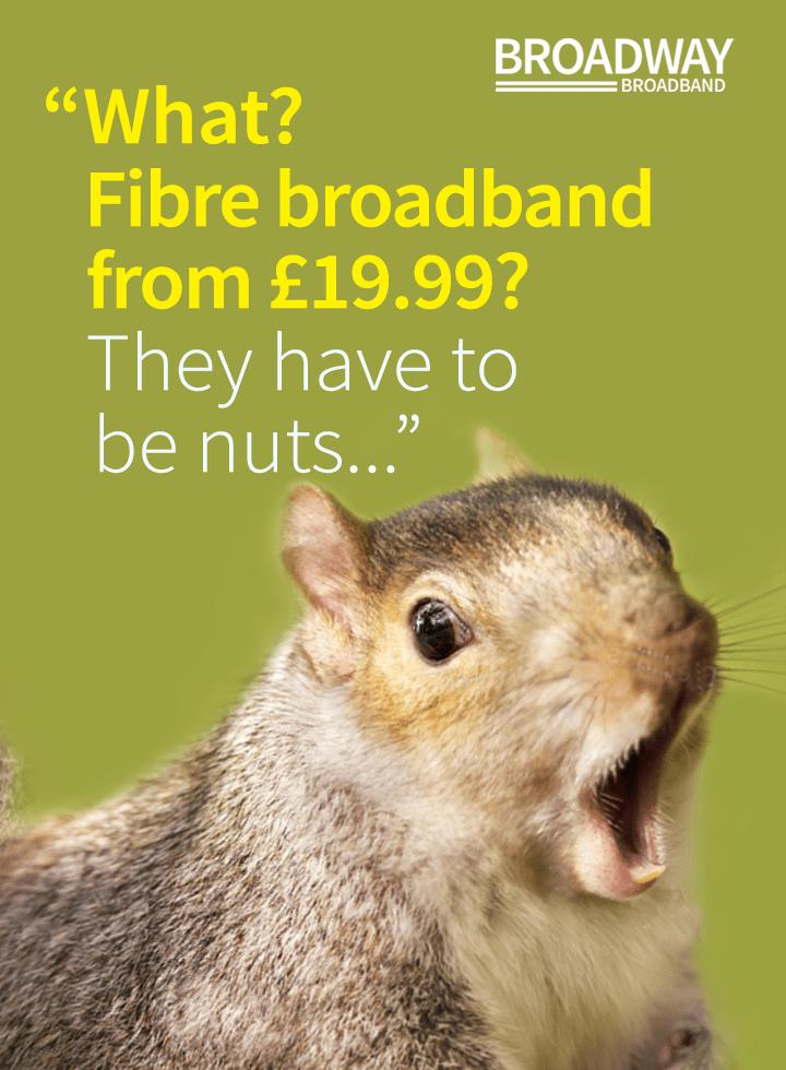 Fibre broadband (tablet)