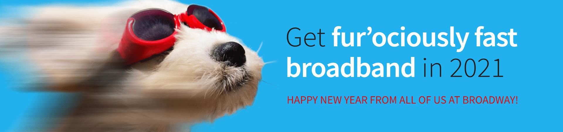 New Year Banner Broadband (Home)